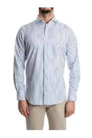 Striped cotton shirt  M 012193 01