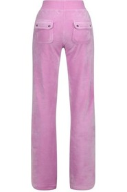 Del Ray Classic Velour Pant Orchid Bukse