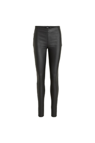 Objbelle MW Coated Leggings Noos