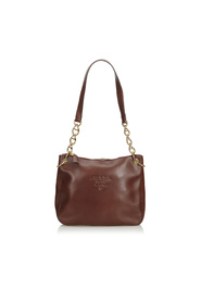 Calf Leather Chain Shoulder Bag