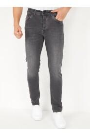 Stretch Heren Spijkerbroek Regular Fit Jeans - DP19
