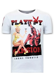 T-shirt The Playtoy Mansion
