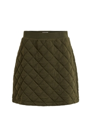 MONI QUILTED SWEAT SKIRT