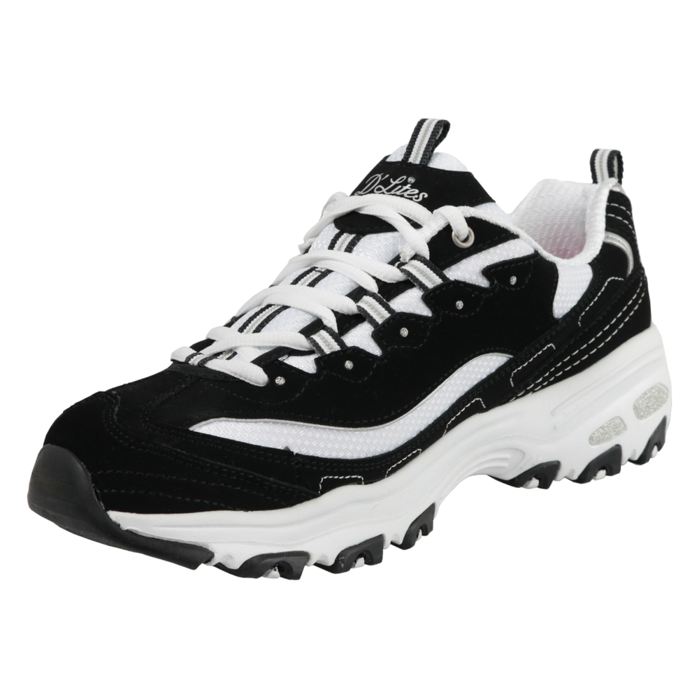 Skechers D'Lites Biggest Fan 11930 BKW