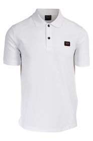 Organic cotton piqué polo with Heritage logo