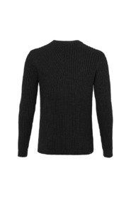 Crew knit pullover