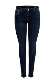 Skinny fit jeans ONLLisa reg zip
