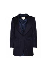 Retro GG pattern blazer