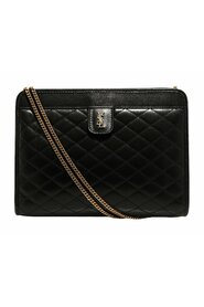 Victoire Baby Clutch Bag in Leather