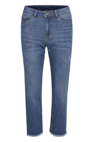 KAnicole Cropped Jeans