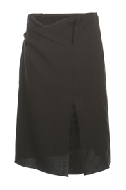 THE JUPE DRAP SKIRT