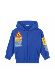 Hoodie With Road-Sign Print