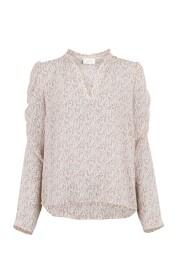 Line Flower blouse