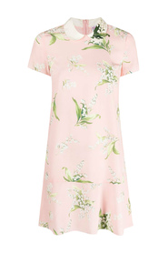 ST.MAY LILY ALL OVER DRESS