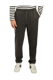 Wool jogging pants
