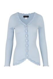 Silk Cardigan - Regular long Sleeve