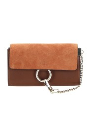 Faye Leather Crossbody Bag