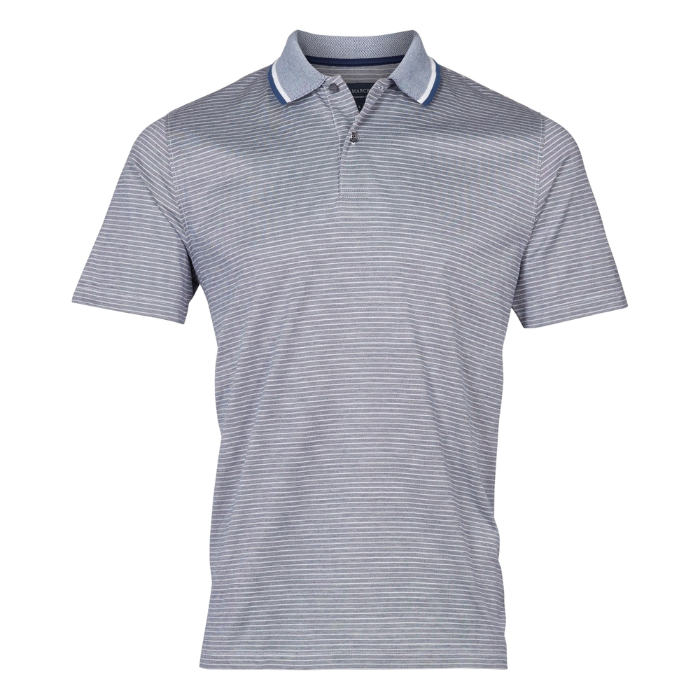 Stripe polo merc