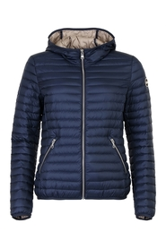 Ladies hooded downjacket