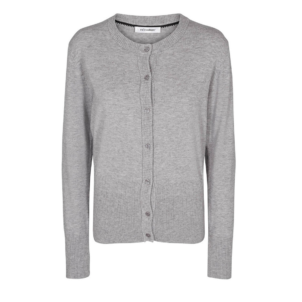 Muse grå cardigan - Co'couture