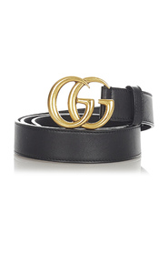 Pre-owned GG Leather Belt