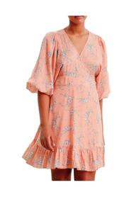 Delicate wrap dress