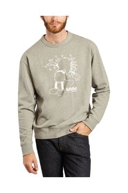 Hugo Mickey trykt sweatshirt Wood Wood x Disney