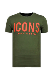 ICONS - Grappige T shirt Heren