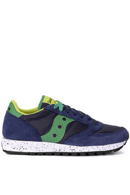 Jazz fabric and suede sneaker