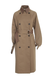 TIE SLEEVE TRENCH COAT