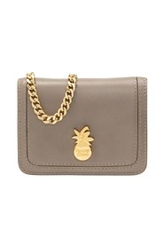Card holder with chain
