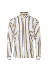 Casual Friday Yellow Stripe Shirt - M