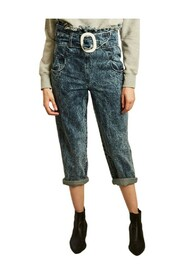 Ziggy wide belted jeans