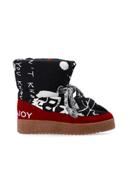 Snow boots with logo