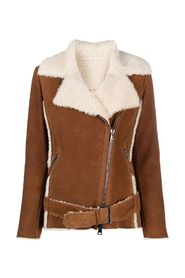 Peru nappa sheepskin jacket