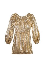 Camille Mini-B - Mini dress with sequins and plunge back