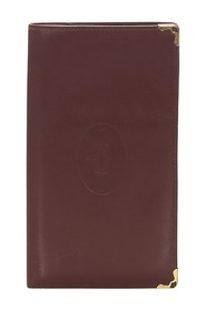 Must De Cartier Leather Long Wallet