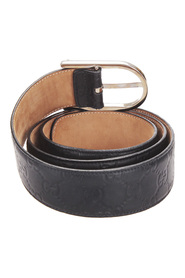 Pre-owned Guccissima Leather Belt