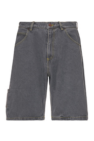 DENIM BAGGY SHORT PANTS