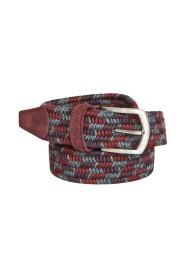 Elasticated woven wool belt