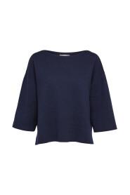 3/4 ærmet -Strikket pullover