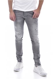 Jeans skinny stretch destroy