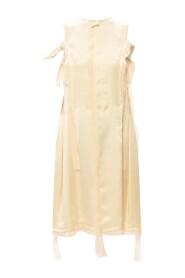 Raw edge dress