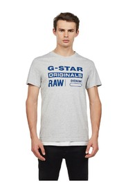 G-STAR D14143 336 GRAPHIC 8 T SHIRT AND TANK Men GREY HEATHER