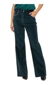 Pantalone 5 tasche in velluto
