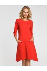 Sukienka z obniżoną talią M328