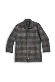 Inverno Checked Wool Coat
