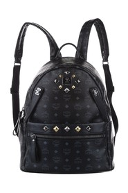 Visetos Dual Stark Leather Backpack