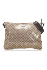 GG Crystal Crossbody Bag Plastic Vinyl