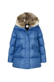 Down Coat (Fur Rabbit) Ytterplagg